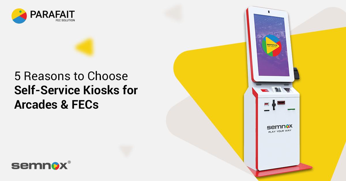 Kiosks for Arcades / FEC kiosks