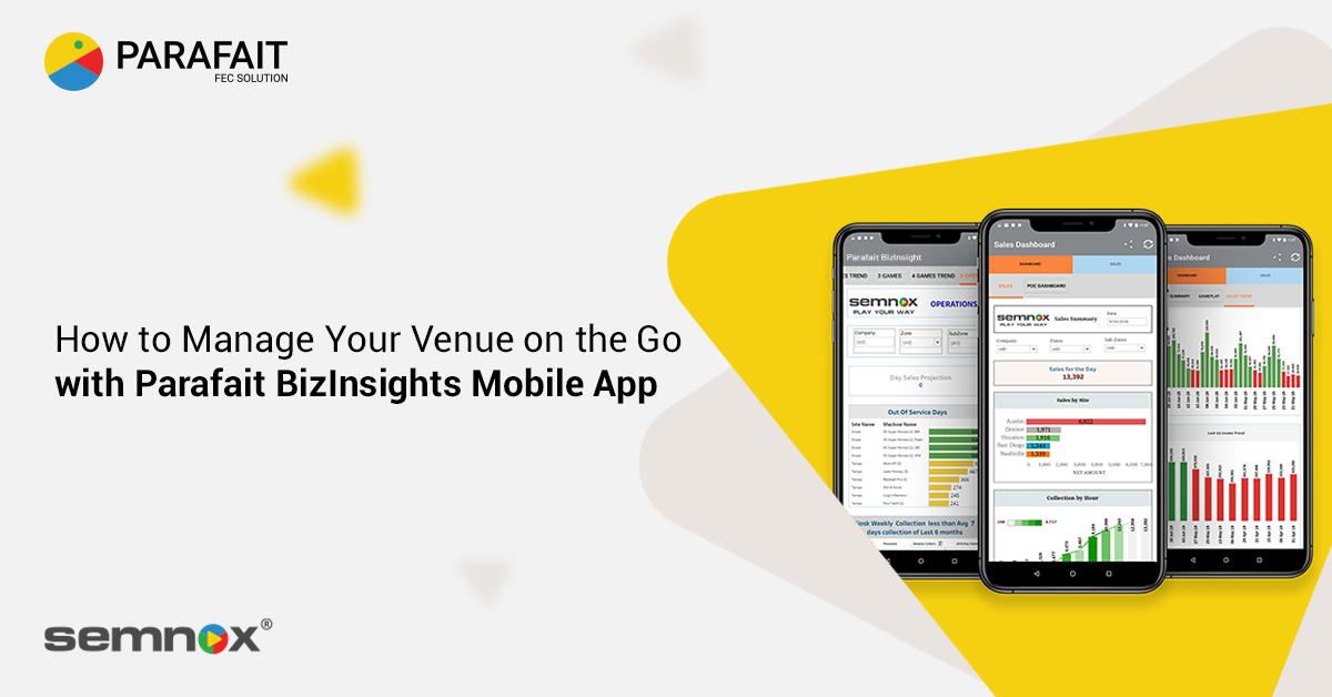 Parafait BizInsights Mobile App