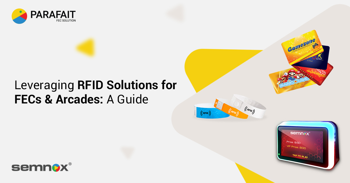 RFID Solutions for FECs & Arcades