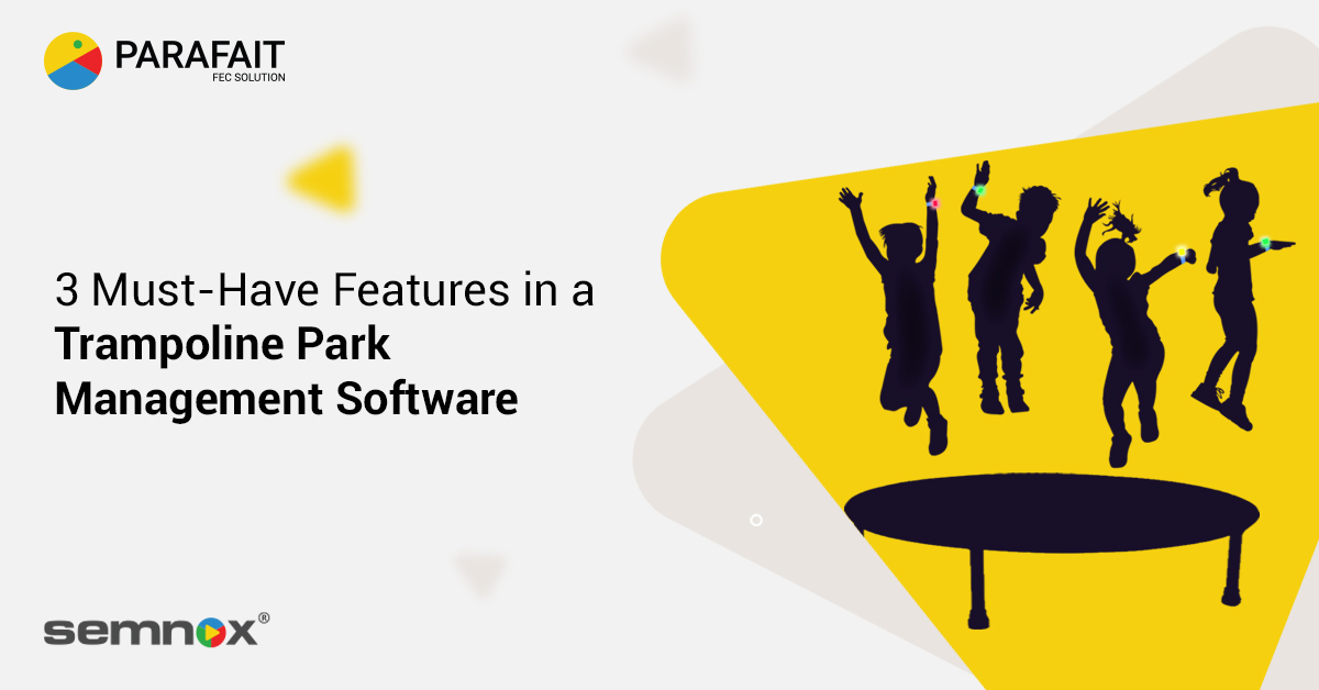 Trampoline park management software