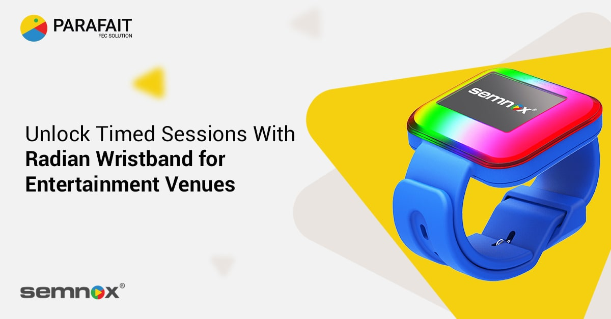 Unlock Timed Sessions With Radian Wristband for Entertainment Venues
