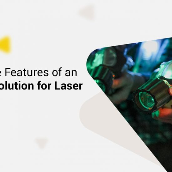 All-in-one solution for laser tag